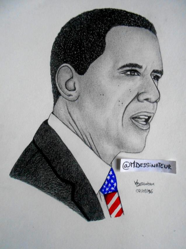 Barack Obama by MisterDessinateur45